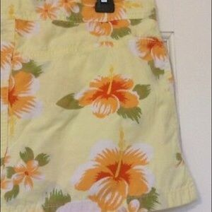 Old Navy Skirts - OLD NAVY SKIRT HAWAIIAN PRINT FLORAL SZ 4